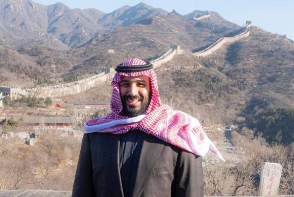 الأمير محمد بن سلمان يزور سور الصين العظيم