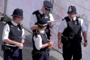عناصر من شرطة لندن