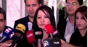 رئيسة برلمان اقليم كردستان الجديد فالا فريد