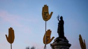 اشخاص يشاركون في نظاهرة احتجاجا على معاداة السامية في ساحة الجمهورية بباريس في 19 شباط/فبراير 2019 اشخاص يشاركون في نظاهرة احتجاجا على معاداة السامية في ساحة الجمهورية بباريس في 19 شباط/فبراير 2019 ا ف ب