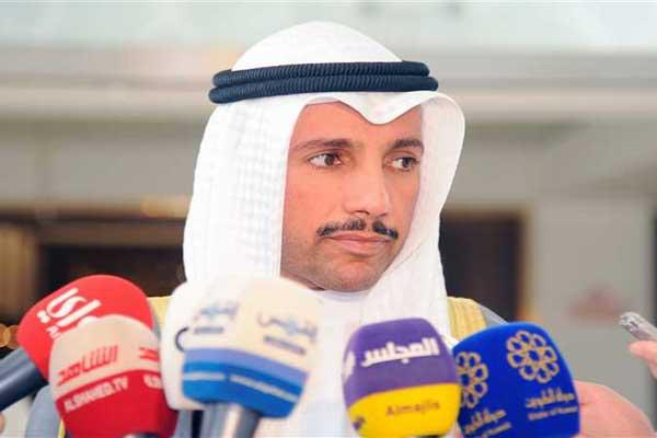 رئيس مجلس الأمة الكويتي مرزوق الغانم