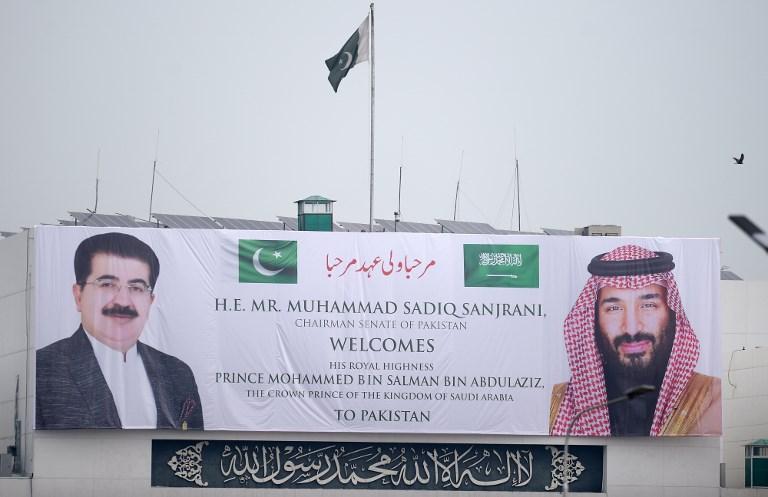 ترحيب واسع في باكستان بزيارة ولي العهد السعودي