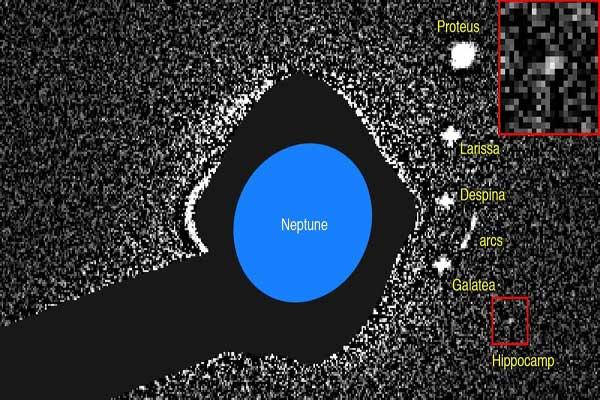 سُمّي القمر الجديد هيبوكامب كناية بالمخلوق البحري في الأساطير اليونانية
