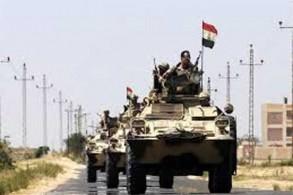 الجيش المصري يقود حربًا على الإرهاب في سيناء
