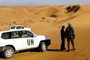 قوات المينورسو الأممية في الصحراء المغربية