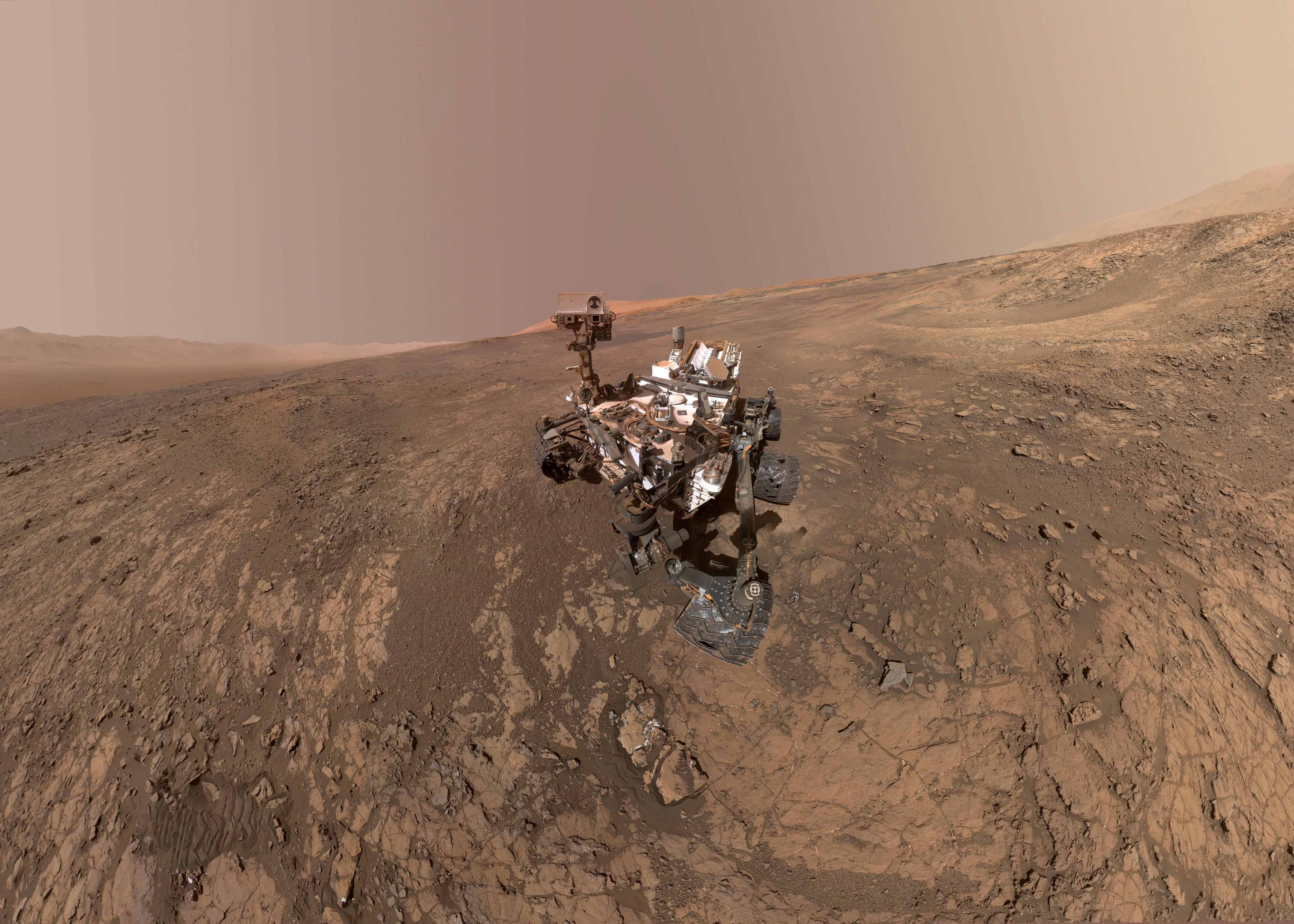 من مهام (ناسا) على سطح المريخ