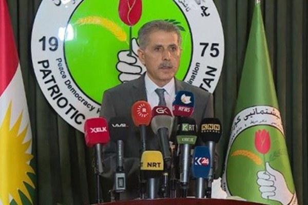 لطيف شيخ عمر المتحدث الرسمي للاتحاد الوطني الكردستاني