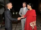 ولي العهد المغربي يستقبل الأمير هاري وعقيلته ميغان ماركل