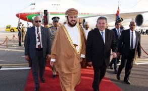 أسعد بن طارق آل سعيد، نائب رئيس الوزراء العماني والممثل الشخصي للسلطان قابوس
