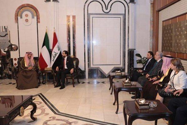 رئيس مجلس الأمة الكويتي في العاصمة العراقية بغداد
