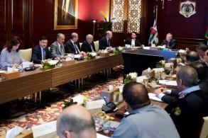 عاهل الأردن مترئسا اجتماع مجلس السياسات