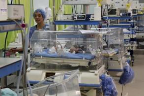 قسم التوليد في مستشفى الرابطة حيث وقعت الحادثة