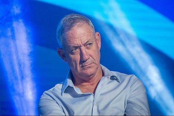 رئيس هيئة اركان الجيش الإسرائيلي السابق بيني غانتس