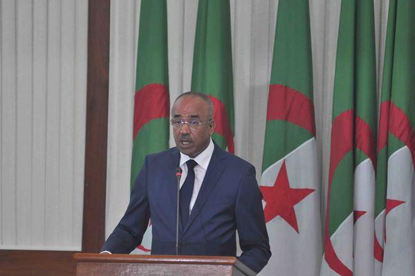 رئيس الوزراء الجزائري الجديد نور الدين بدوي