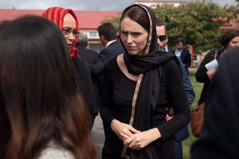 رئيسة الوزراء النيوزيلندية تعزي أسر الضحايا