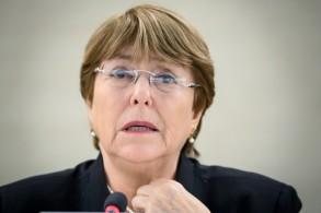 المفوضة السامية لحقوق الانسان بالامم المتحدة ميشيل باشليه