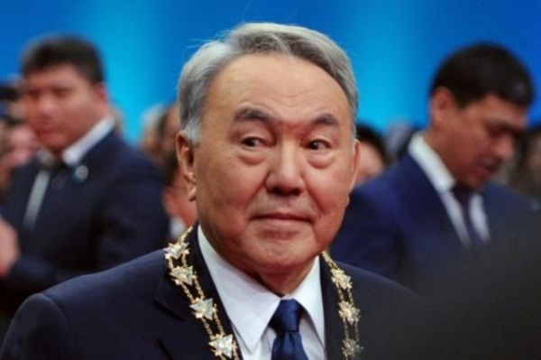 رئيس كازاخستان نور سلطان نزارباييف في صورة من الارشيف