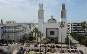 كاتدرائية الرباط في 4 نيسان/ابريل 2010