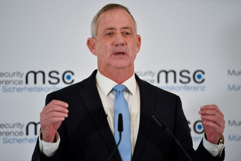رئيس الاركان الاسرائيلي السابق بيني غانتس الخصم الاكبر لبنيامين نتانياهو في الانتخابات التشريعية المقبلة