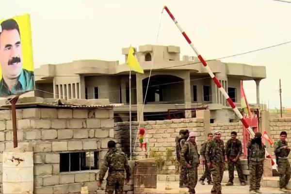 مقر لحزب العمال التركي الكردستاني في سنجار