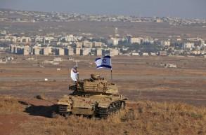 دبابة إسرائيلية على مشارف الجولان المحتلّ
