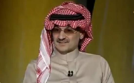 رجل الأعمال السعودي الأمير الوليد بن طلال