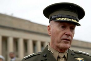 رئيس هيئة الأركان الأميركية المشتركة الجنرال جوزف دانفورد في فيرجينيا بتاريخ 22 فبراير 2019