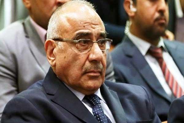 عادل عبدالمهدي رئيس الوزراء العراقي