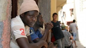 مهاجرو أفارقة بالمغرب