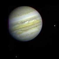 كوكب المشتري في صورة من موقع وكالة (ناسا)