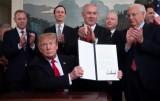 ترمب يوقع الإعتراف الأميركي بسيادة إسرائيل على الجولان