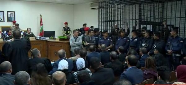 جانب من جلسة محكمة أمن الدولة