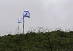 أعلام إسرائيلية في الجولان السوري المحتل