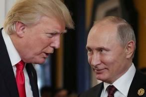 الرئيسان الروسي فلاديمير بوتين (يمين) والأميركي دونالد ترمب