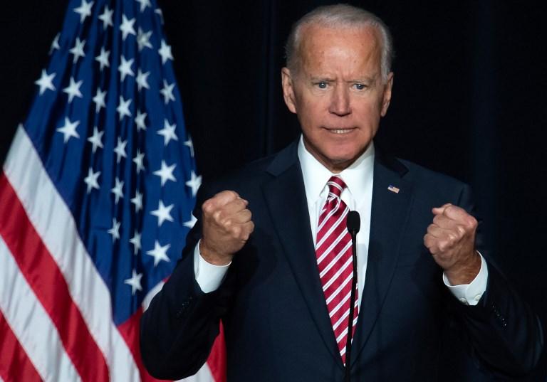 جو بايدن نائب الرئيس الأميركي الأسبق