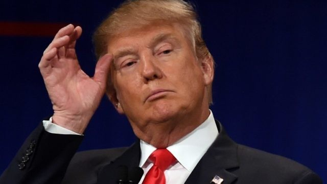 الرئيس الاميركي دونالد ترمب