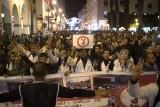 آلاف الأساتذة يتظاهرون في الرباط ضد