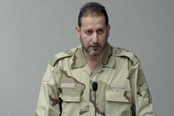 فاتح حسون القيادي في الجيش السوري الحر
