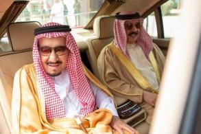 الملك سلمان والملك حمد بن عيسى