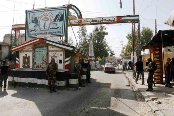 مخيم عين الحلوة في جنوب لبنان