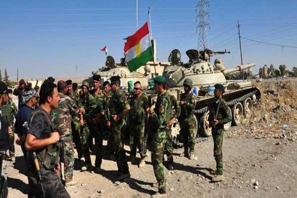 قوات البيشمركة الكردية العراقية