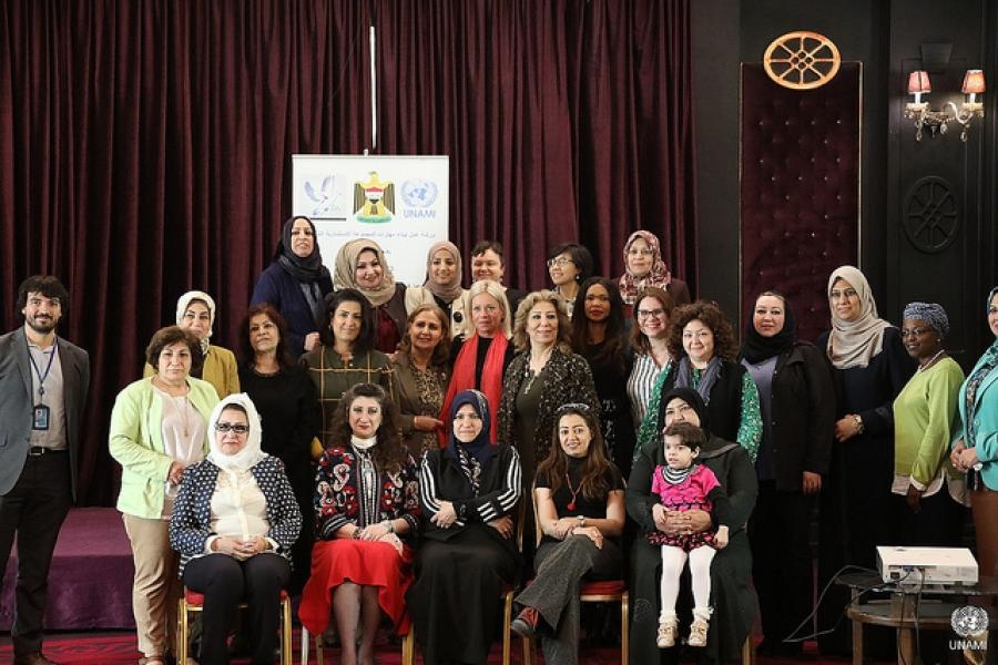 بلاسخارت تتوسط المجموعة الاستشارية العراقية للنساء