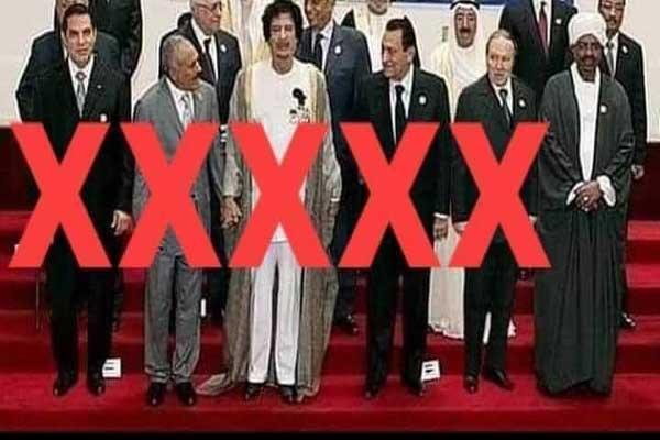 رؤساء جمهوريات عربية أطاح بهم ثورات واحتجاجات شعبية