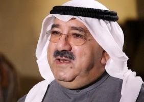 رئيس مجلس الوزراء بالإنابة ووزير الدفاع الشيخ ناصر صباح الأحمد الصباح