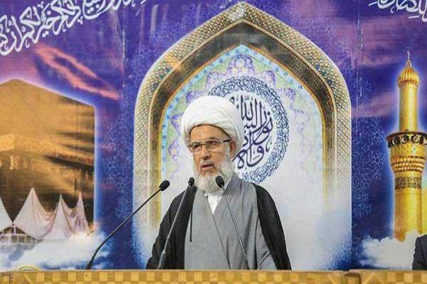 الشيخ عبد المهدي الكربلائي يلقي خطبة جمعة كربلاء
