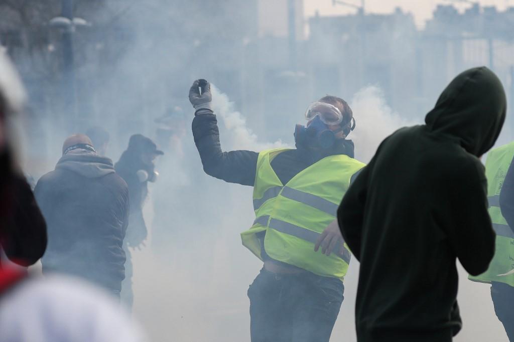 من تظاهرات السبت الماضي