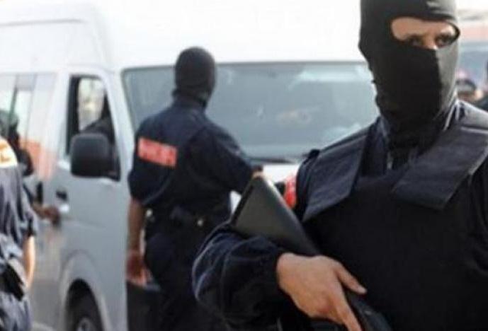 عناصر من الأمن المغربي