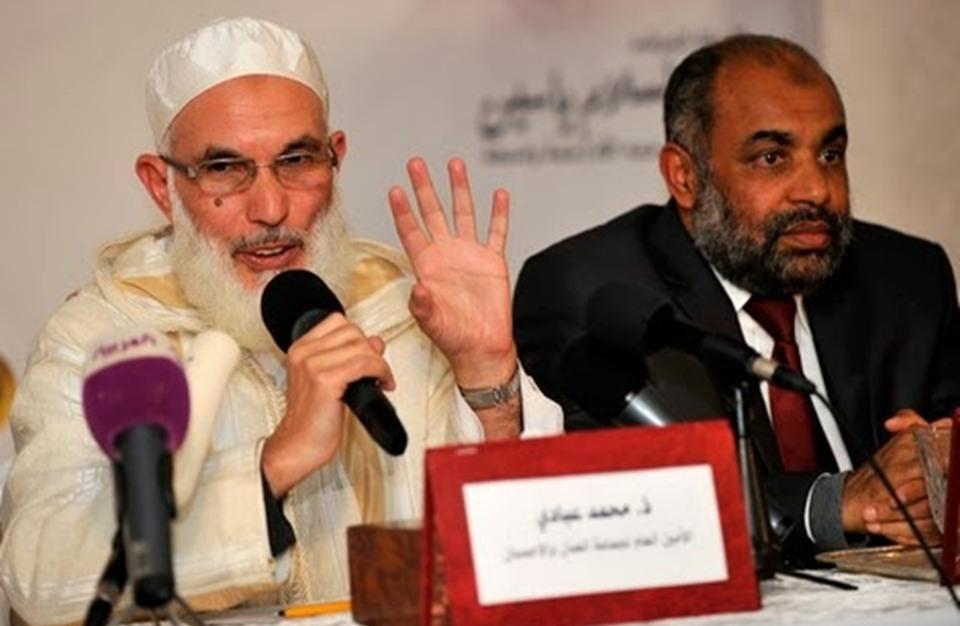 محمد عبادي أمين عام جماعة العدل والإحسان المغربية