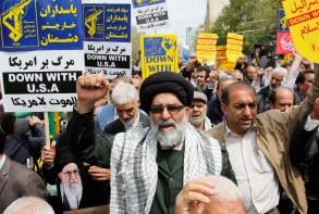 تظاهرة في طهران ضدّ تصنيف الحرس الثوري