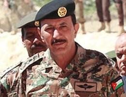 الفريق مشعل الزبن رئيس الاركان الاردني السابق